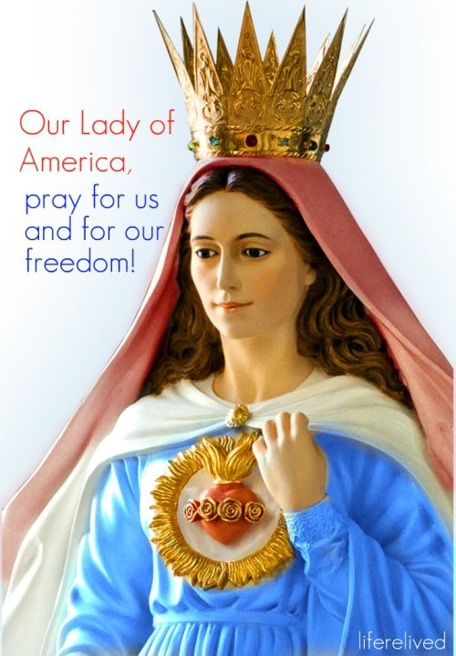 our lady of america